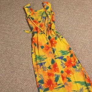 True Hawaii tropical maxi dress